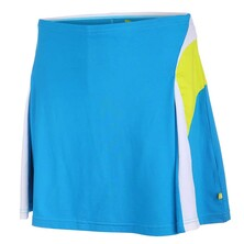 Pure Lime Womens Doubles Skort 14inch Vivid Blue