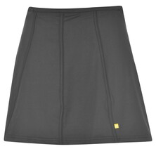 Pure Lime Women's Pleated Black Skort 14 Inch