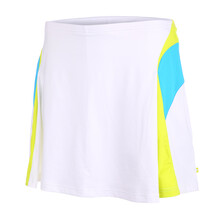 Pure Lime Womens Doubles Skort 14inch White/Vivid Blue