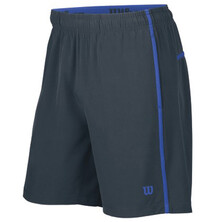 Wilson Colorblock Hybrid Knit Stretch Woven 8 Inch Short Coal