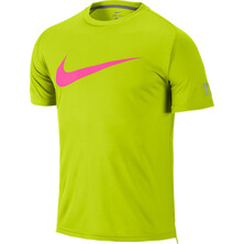 Nike Mens Practice SS Top Cyber/Dove Pink