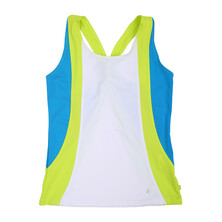 Pure Lime Twisted Back Cami Girls Top