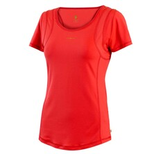 Pure Lime Womens Revival Tee Dark Coral