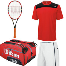 Wilson Pro Staff Collection Bundle