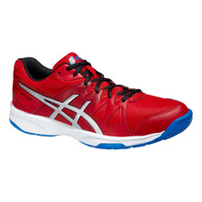 Asics Gel Upcourt Men's Shoes Fiery Red Silver Electric Blue