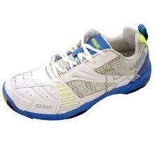 Ashaway Seattle Indoor Court Shoes - White/Blue/Yellow