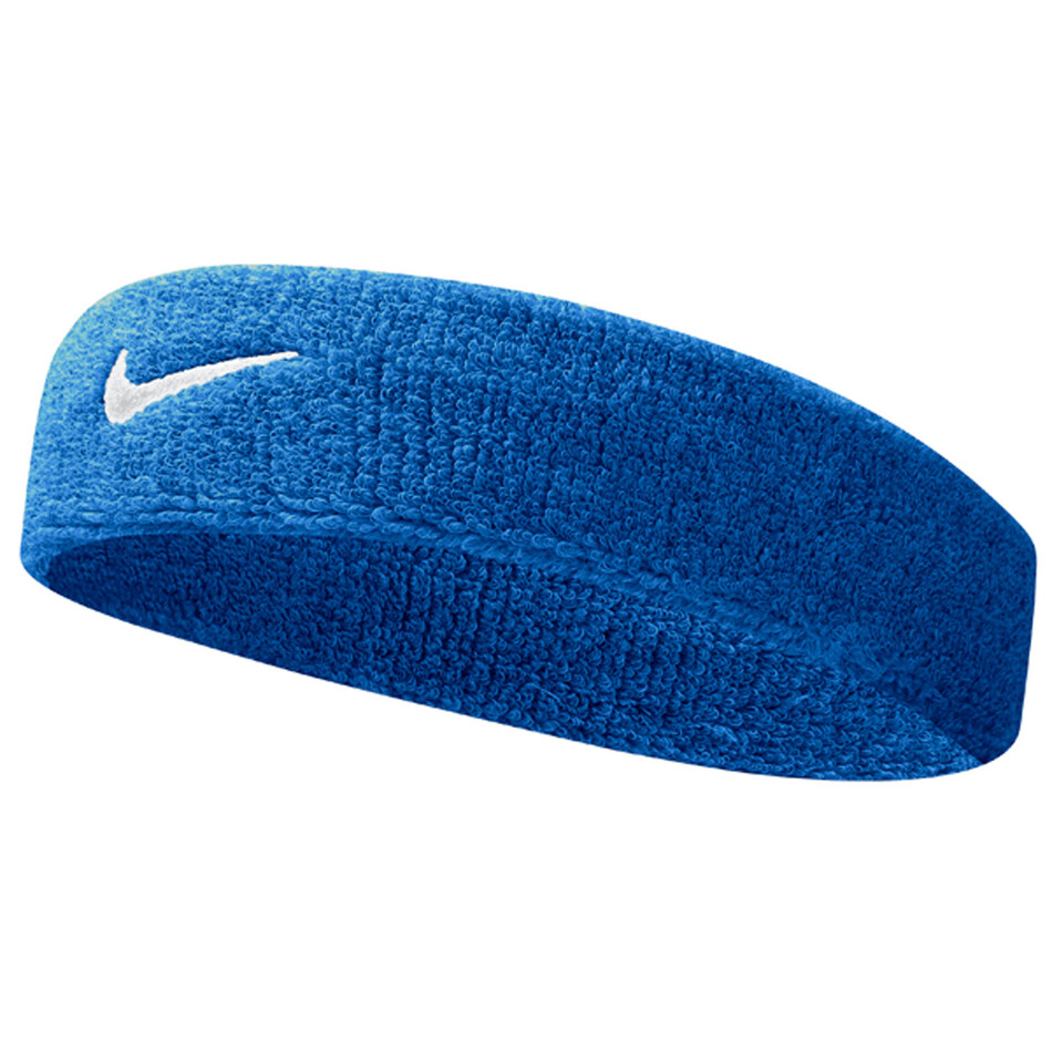 Nike Swoosh Headbands Royal Blue White Great Discounts