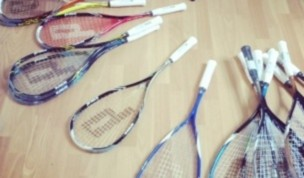 New 2014 Prince squash racket launch