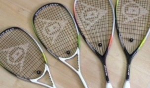 Preview: New Dunlop 2014 Squash Rackets