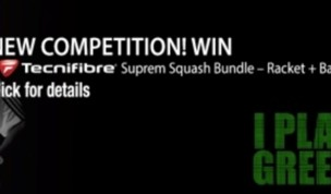 New Tecnifibre Suprem Squash competition