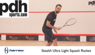 Harrow Stealth Ultralite Squash Racket review