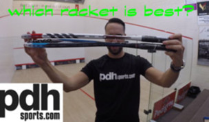 Tecnifibre Carboflex 135 and 130 squash racket review