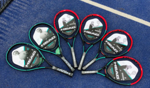 Head Gravity Junior rackets