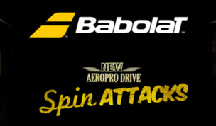 New Babolat Aero 2013 - arriving December 2012