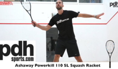 Ashaway Powerkill 110 SL squash racket review