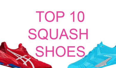 Top 10 Squash Shoes for 2020