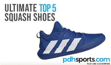 pdhsports Ultimate Top 5 Squash Shoes