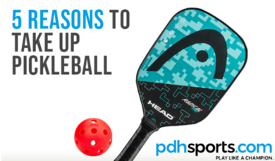 Five reasons to take up pickleball