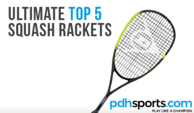 pdhsports Ultimate Top 5 Squash Rackets