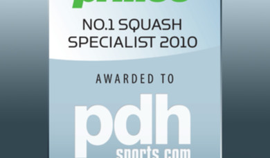 PDHSports wins Prince No.1 UK Squash Specialist 2010