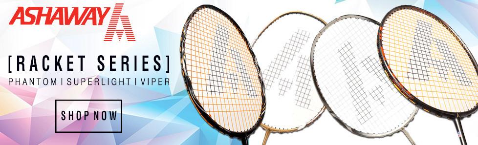7ff8cde23 ... Ashaway Badminton Rackets  Salming Hawk squash shoes