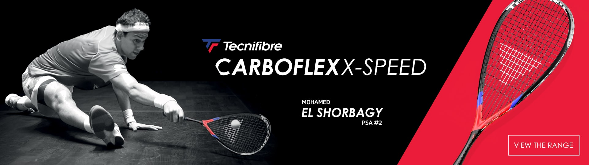 Carboflex rackets