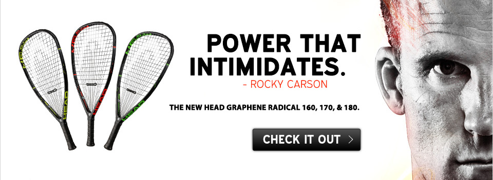 HEAD Graphene Radical racketball