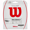 Wilson Revolve Twist 17 Grey Tennis Restring Upgrade
