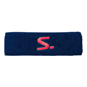 Salming Knitted Headband Navy Coral 2018