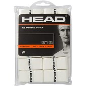 Head Prime Pro Overgrips Pack Of 12 - White