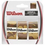 Wilson Camo Overgrip 3 Pack - Brown