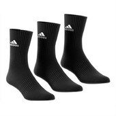 Adidas Cushion Crew Sock 3 Pack Black