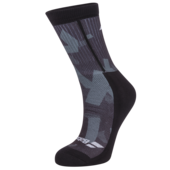 Babolat Mens Graphic Socks Black