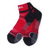Karakal X4 Ankle Sock Red Black