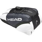 Head Djokovic 9R Supercombi Racket Bag Black White