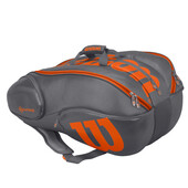 Wilson Vancouver 15 Pack Racketbag Grey Orange
