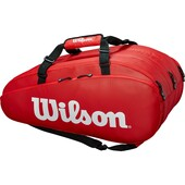 Wilson Tour 15 Racket Bag Red