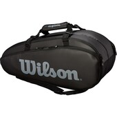 Wilson Tour 2 Compartment Large Racket Bag Black