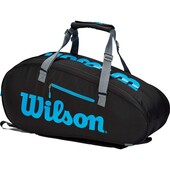 Wilson Ultra 9 Racket Bag Black Blue