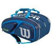 Wilson Tour V 15 Pack Racket Bag Blue