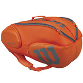 Wilson Vancouver 9 Pack Racketbag Orange Grey