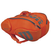 Wilson Vancouver 15 Pack Racketbag Orange Grey