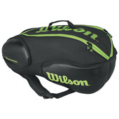 Wilson Vancouver 9 Pack Racketbag Black Green