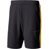 Adidas Barricade Men's Woven Short 8.5 Inch Black Yellow