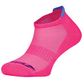Babolat Invisible 2 Pack Women Socks Fandango Pink Wedgewood