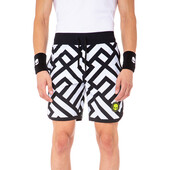 Hydrogen Men's Labyrinth Shorts White Black