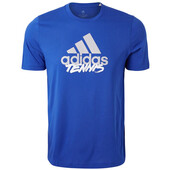Adidas Men's Category Tennis Tee Royal Blue