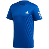 Adidas Mens 3 Stripes Club Tee Blue