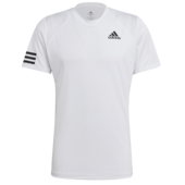 Adidas Mens 3 Stripes Club Tee 2021 White