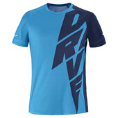 Babolat Men's Drive Crew Neck Tee Drive Blue